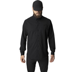 Houdini LS Shirt Men Miehet, true black
